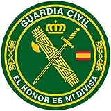 Artimagen Pegatina círculo Guardia Civil El Honor es mi divisa ø 50 mm/ud.