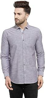 MAFATLAL Men Self Design Casual Shirt