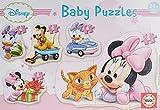Educa - Baby Minnie Mouse 5 Puzzles Orogresivos de 3 a 5 Piezas, Multicolor (15612)...
