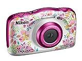 Nikon - Coolpix W150 Cámara Digital compacta - 13.2 megapíxeles - Pantalla LCD de 3' Pulgadas - Full HD - Impermeable - Resistente a los Golpes, a Las Bajas temperaturas y al Polvo -