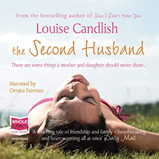 The Second Husband audiobook cover art