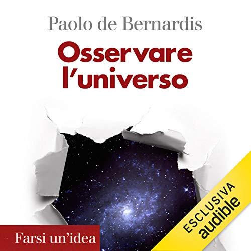 Osservare l'universo audiobook cover art
