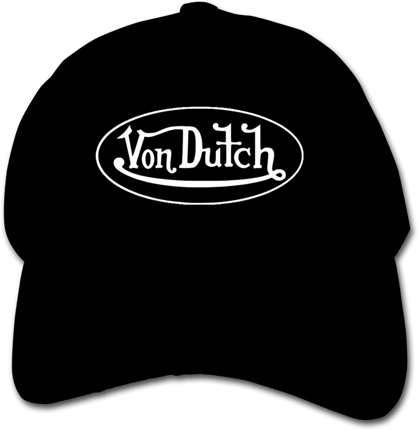 Von Dutch Suitable for Various Sizes of Adult Mesh Hats and Trucker Hats Black