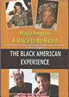 Maya Angeou a Voice to Be Heard - Black American [DVD]