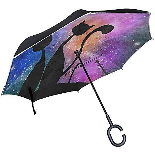 Class-Z Car Umbrella Sonnenschirm und Regenschutz f/ürs Auto Universal Auto Sonnenschirm Sonnenschutz Abdeckung Schirm Schutz vor Dreck Staub einfache Anbringung
