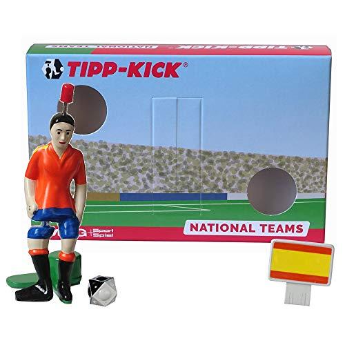 TIPP-KICK Spanien-Box I Original Set Spanien-Star-Kicker & Spanien-Soundchip in der Torwandbox I Figur Spiel I Zubehör