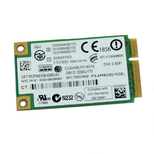 Yintiod WLAN Karte WLAN Stick, Bluetooth 4.0 Dual-Band-WLAN-Karte für Lenovo G50-30 45 70 70M Z50-70-75