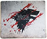 12x10 Inch Game of Throne Winter Is Coming North Wolf Mousepad Large Mouse Pad Mouse mat Waterproof
