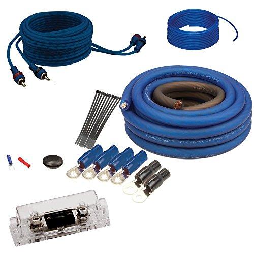 Soundquest SQK4ANL CCA 4 Gauge Wiring Kit
