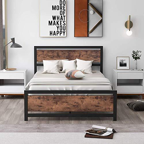 Tatub Bed Frames, Queen, Black