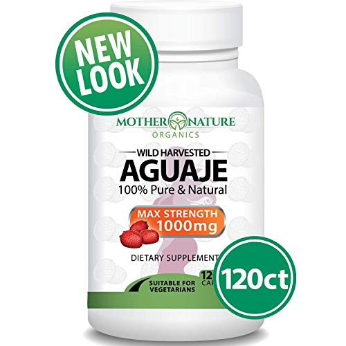 Aguaje Fruit Supplement - 120 Vegan Capsules - 1000mg Per Serving - Natural Butt and Bust...