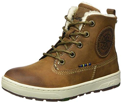 Lurchi Jungen Doug-TEX Combat Boots, Braun