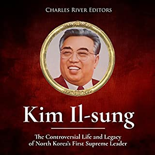 Kim Il-sung audiobook cover art