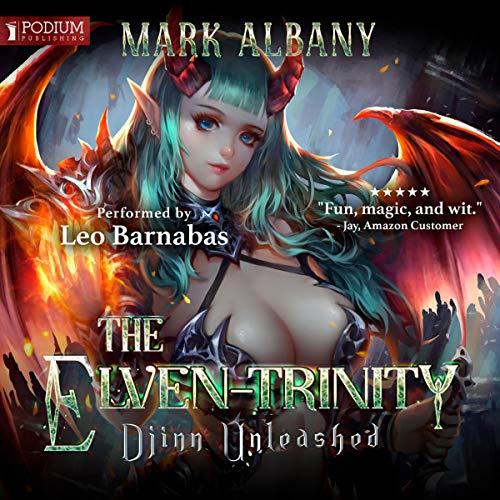 Djinn Unleashed audiobook cover art