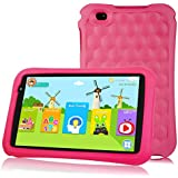 10.1 inch Kids Tablet PC Quad Core Android 9.0 Pie OS Tablet for Kids HD Screen 2GB+32 GB Dual Camera 2MP Front+ 5MP Rear, Bluetooth and WiFi Tablet for Kids Blue Kid-Proof (Pink)