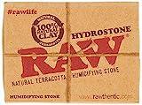 RAW 18324 Hydrostone-Tobacco Humidifier Natural Terracotta Humidifying Stone 3.6 cm Diameter 20 Display Stoneware