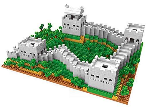 RSVT Great Wall Toys Set De Edificio Kit De Modelo para Adultos Y Niños Mini Bloques De Construcción 1719 Unids