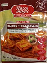 Rasoi Magic Paneer Tikka Masala - Spice Mix for Grilled Cheese in Creamy Tomato Sauce, 50 Grams, 1.76oz. (Pack of 2)