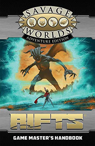 Rifts : Game Master's Handbook Revised SWADE Edition (S2P11201RE)