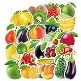 HENJIA Exquisite wasserdichte frische Obst und Gemüse Aufkleber für Küche...