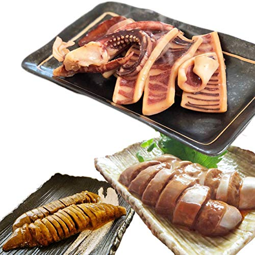 イカ屋荘三郎 いかのふっくら焼 130g とイカわた 50g (醤油味 塩味) 各1袋セット 石川産 国産 お取り寄せ ギフト グルメ ヤマキ食品 #元気いただきますプロジェクト