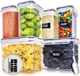 Best Flour Containers - Large Airtight Food Storage Containers with Lids Review