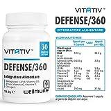 Zoom IMG-1 vitativ defense 360 integratore difese