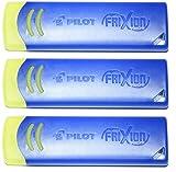 Pilot FriXion Pilot - Gomme da cancellare (3 pezzi, blu)