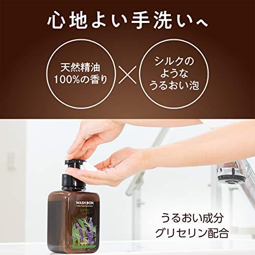 サラヤウォシュボンプライムフォームグリーンハーブ詰替500ml石鹸500ミリリットル(x1)