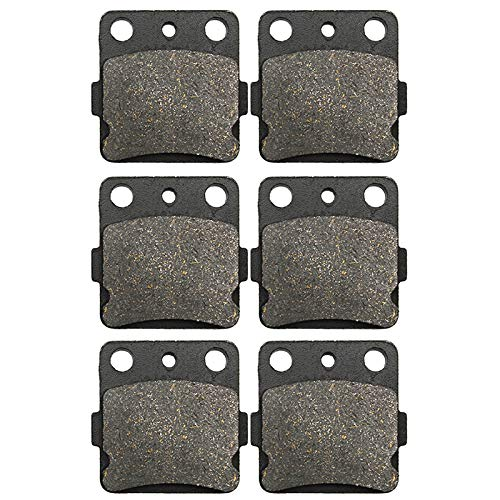 Road Passion Brake Pads Front and Rear for SUZUKI LT-Z 400 K/Z/L Quadsport 2003-2014/