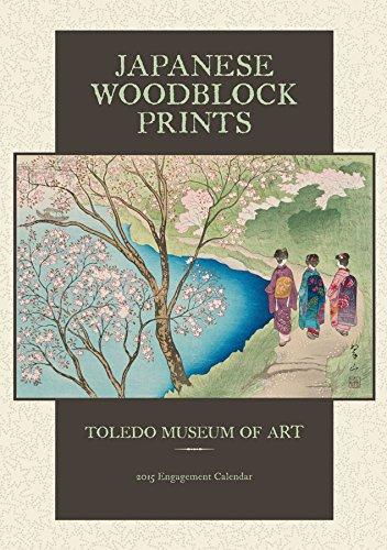Japanese Woodblock Prints 2015 Calendar