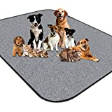 newoer Upgrade Heavy Absorbency Non-Slip Washable Dog Pee Pads Reusable 72'x72' Anti-Tear Dog Training Pads Puppy Whelping Pad for Training,Whelping,Housebreaking, Incontinence and Playpen Crate