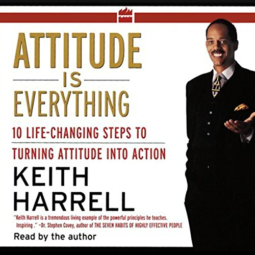 Attitude is Everything audiobook cover art