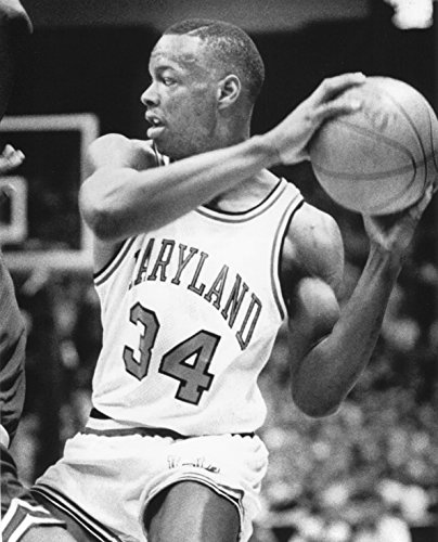 LEN BIAS MARYLAND TERRAPINS 8X10 SPORTS ACTION PHOTO (XXXL)