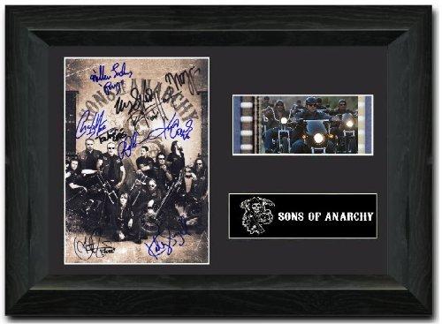 Sons of Anarchy Gerahmter 35-mm-Filmstreifen - Motiv und Autogramm von Jackson 'Jax' Teller S1