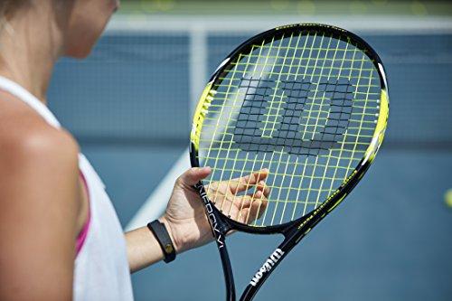 Product Image 4: Wilson Sporting Goods Energy XL Tennis Racquet (EA) , Yellow/Black, 4 3/8″