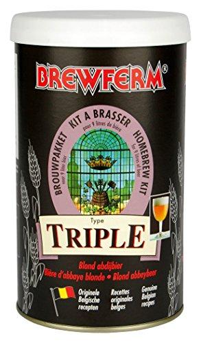 Radis et Capucine Extrait Malt 9L bière Blonde Triple pour Brassage DIY, Multicolore, 10x10x18 cm