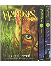 WARRIORS BOX SET VOLUMES 1 3V: Into the Wild, Fire and Ice, Forest of Secrets