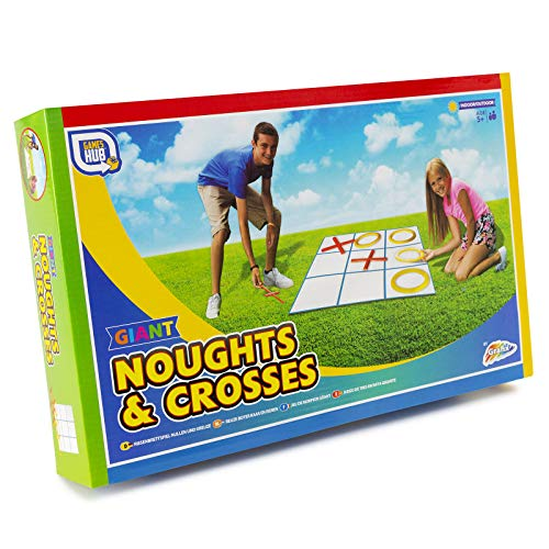 Games Hub - Giant Garden Family Game - Noughts and Crosses