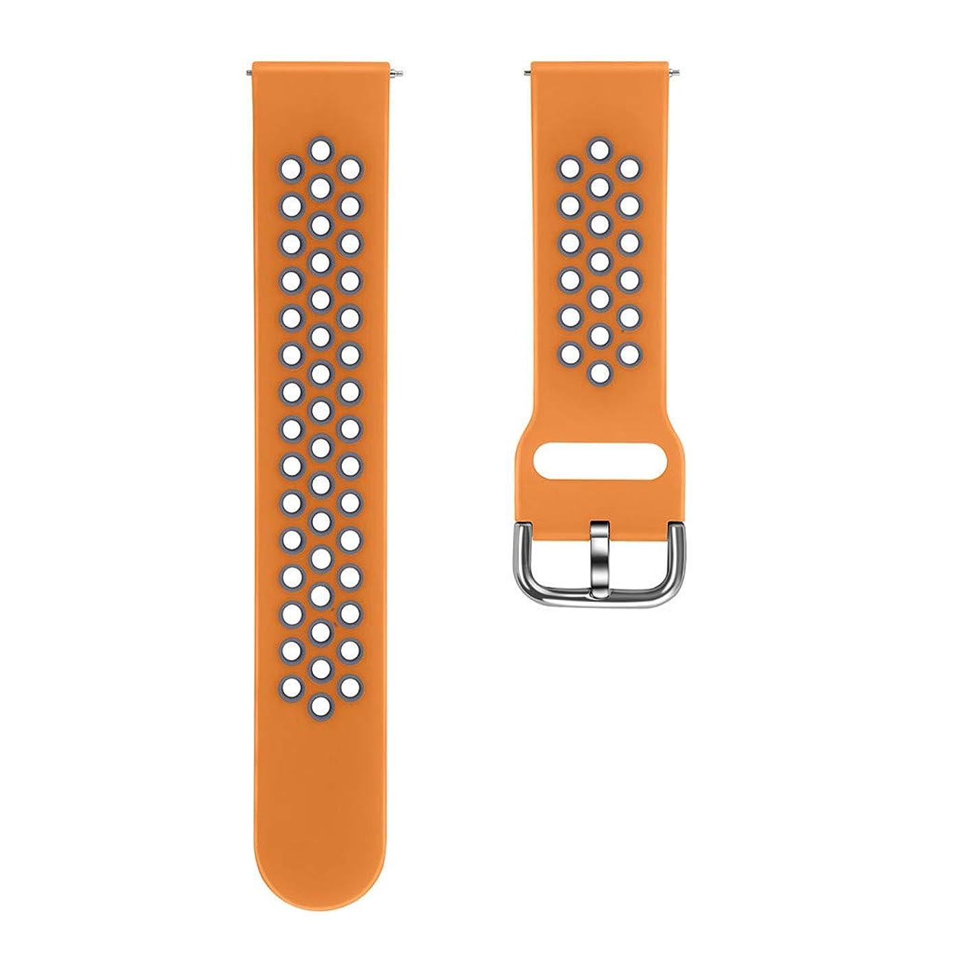 他にサスペンション転送4Fires スマートブレスレットウォッチアクセサリー 2色の通気性シリコンストラップ Fitbit Versa 2と互換性のある交換用換気スポーツリストバンドリストストラップ(Sサイズ)