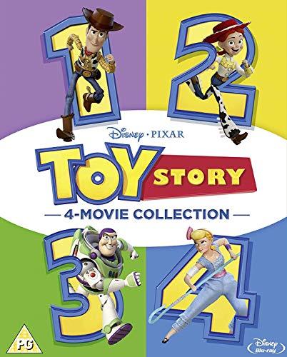 Toy Story 1-4 Complete (5 Blu-Ray) [Edizione: Regno Unito]