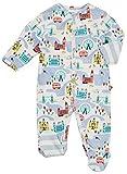 Piccalilly Pijama de bebé con diseño de Londres con pies, algodón orgánico,...