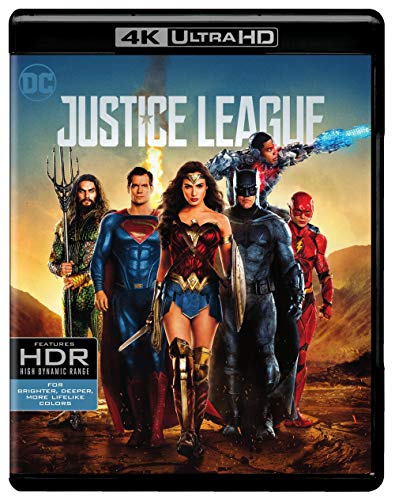 Justice League (2017) (4K UHD) [Blu-ray]