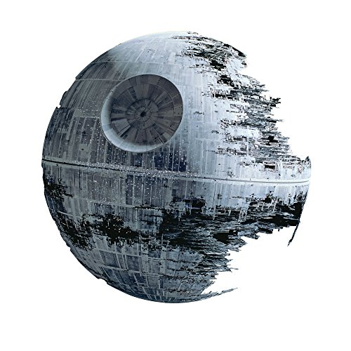 Customise4U Star Wars Death Star Kinder Wandaufkleber Wandüber Wall Art Wand Tattoo (Death Star 70cm)