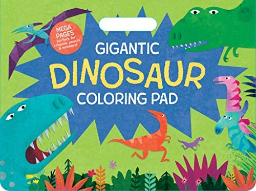 Gigantic Dinosaur Coloring Book 11 x 14 Oversized Sheets Travel Back through Time to the Prehistoric product image