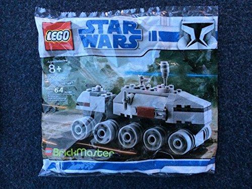Lego Star Wars Brickmaster 20006 Mini Clone Turbo Tank / Juggernaut