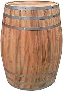 Tonneau à vin en Bois Fûts de chêne, Fûts de Chêne Vintage en Bois, Convient à Fabrication ou Stockage Esprits et Bière Pr...