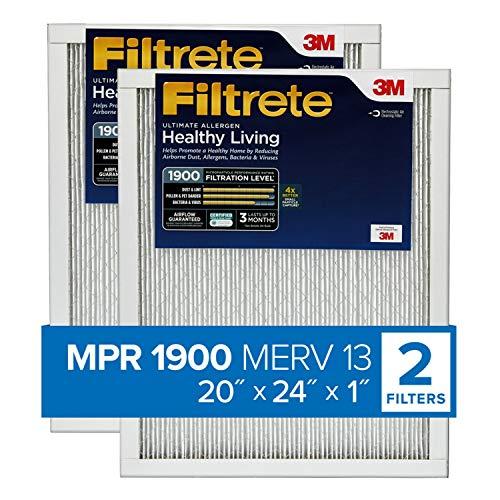 Filtrete 20x24x1, AC Furnace Air Filter, MPR 1900,...