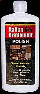 Italian Craftsman Poilish Marble and Granite Polish 16 oz, Pack of 4