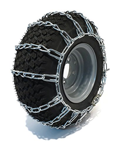 Welironly New Pair 2 Link TIRE Chains 26x12-12 for...
